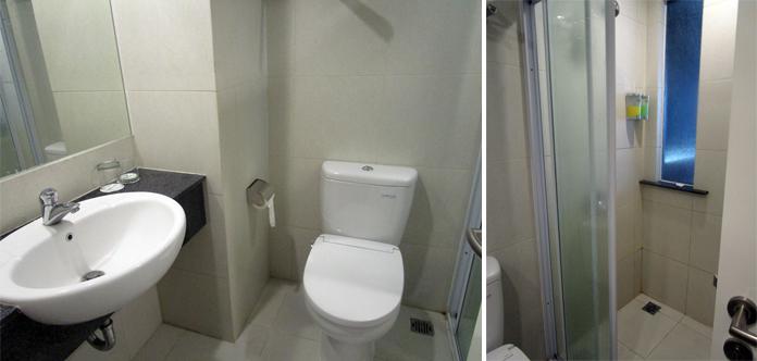 Kondisi toilet di the balava hotel di malang