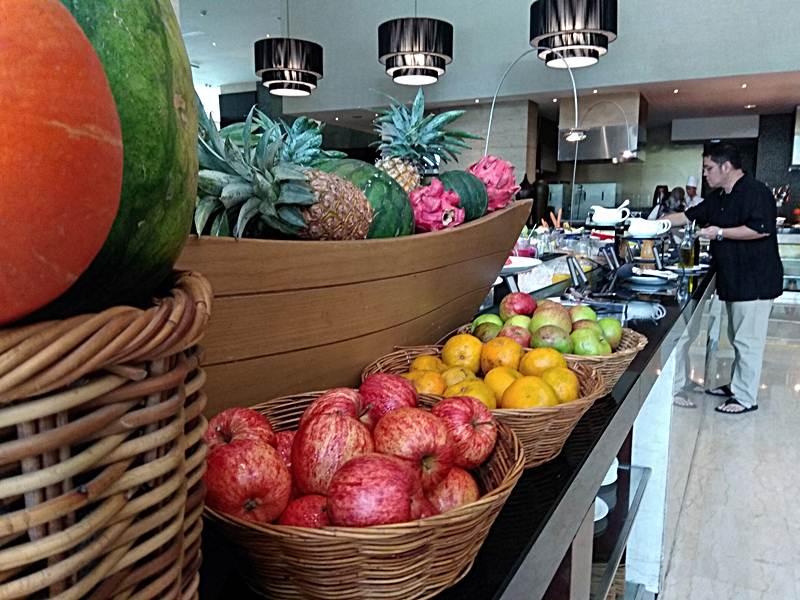 Breakfast Hotel Hilton Bandung