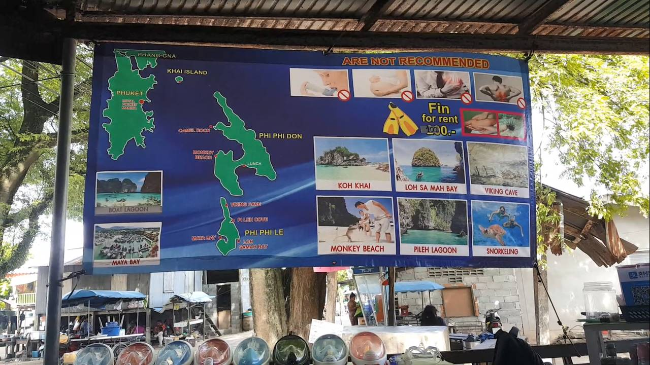 Briefing Tour Phi Phi Island